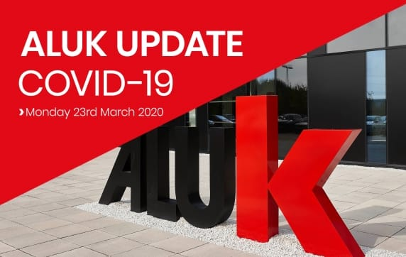 COVID-19 Update - Monday 23rd March 2020