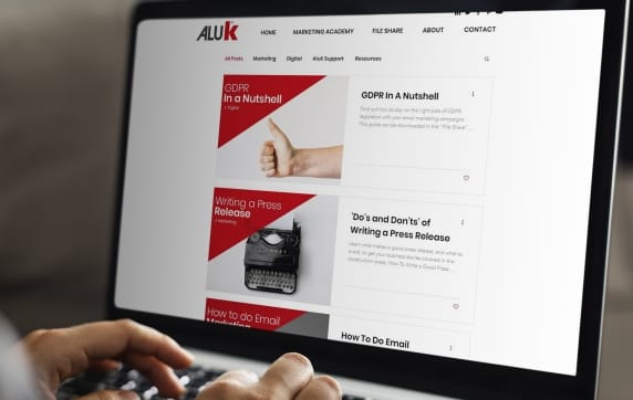 AluK Creates Marketing Support Website For Customers