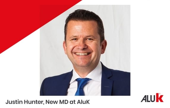 Justin Hunter Joins AluK As Managing Director
