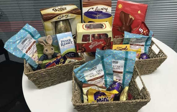 'Egg-stra' special Easter hampers from AluK
