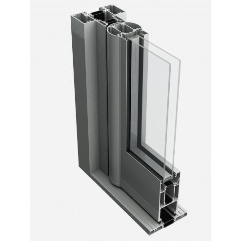 GT55 TB Commercial Door